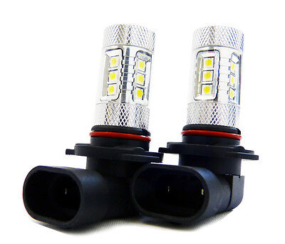 2x 9005 80W CREE White High Beam LED Replacement Bulb Xenon HID Kit Alternative
