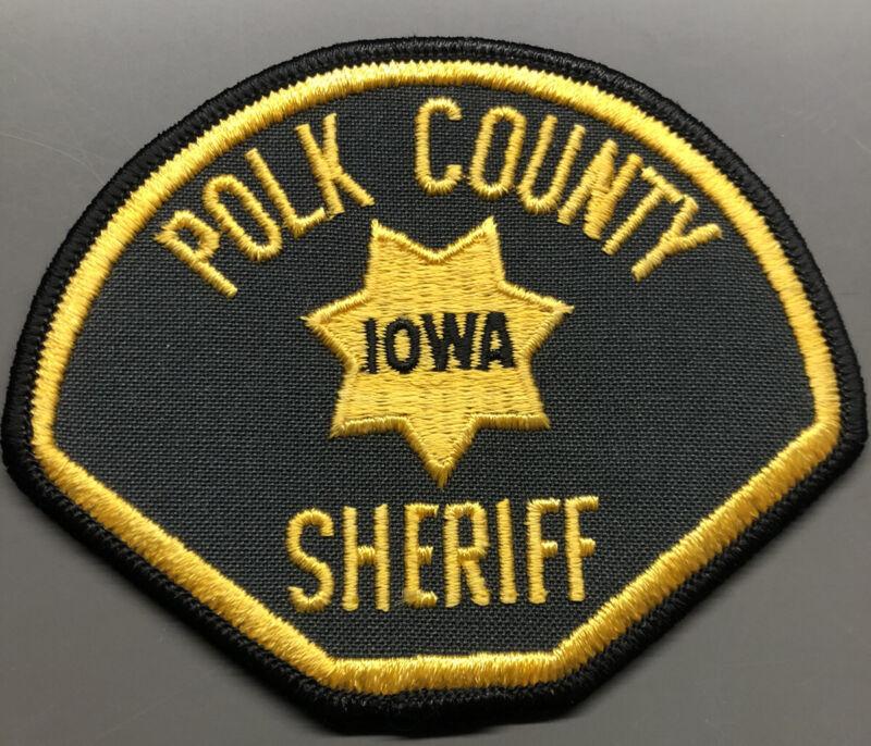 Polk County Iowa Sheriff Patch