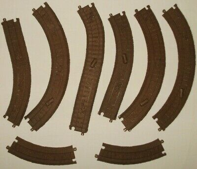Thomas Trackmaster Zip Zoom Logging Adventure Replacement Track Parts Lot of 8