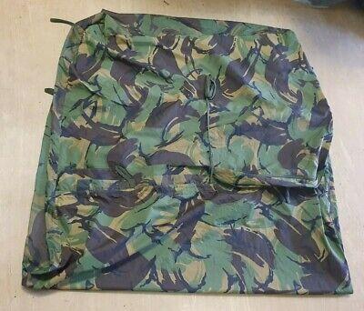 Genuine British SAS/SBS Issue GoreTex Woodland DPM Camo Tunnel Bivi/Bivvy Bag