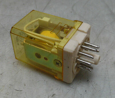 Idec Relay, Model RR3P-U, 11 Pin Socket,  24VAC Coil, Used, WARRANTY