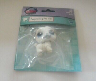 Littlest Pet Shop #128 Pugson Fuzzypaws New