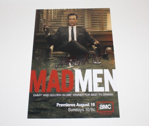 MAD MEN CREATOR MATTHEW WEINER SIGNED 12x18 TV SHOW POSTER PHOTO W/COA DIRECTOR