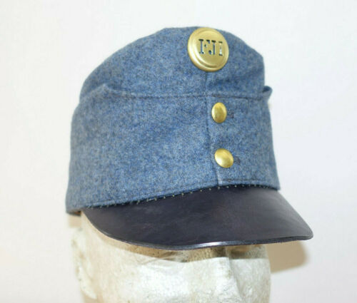 AUSTRIAN AUSTRO HUNGARIAN ARMY WW1 REPRO EARLY BLUEISH CAP HAT Sz59 (7 3/8) 1915