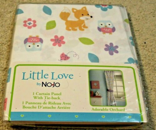 Baby Nursery Little Love by NoJo Curtain Window Panel Adorable Orchard 41x63