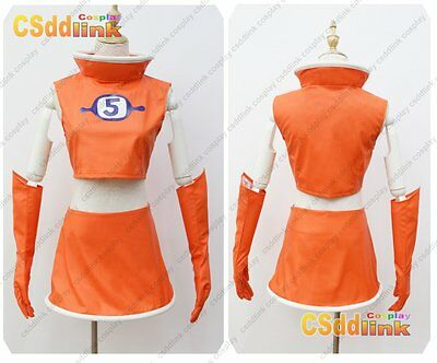 Space Channel 5 ulala Cosplay Costume orange