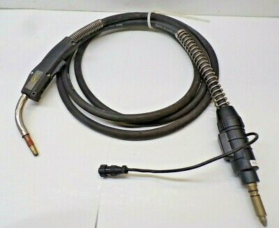 Tweco Cablehoz Mig Welder Feed Cable 400 Amp Mig Gun 54a Metal Tip 15 Oal
