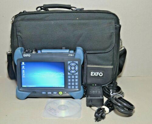 Exfo FTB-1 FTB-1-S2-8G OTDR iOLM SM w/ FTB-720-23B-EA SM 1310/1550 OTDR Module