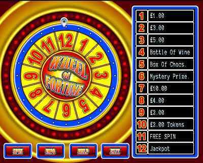 Wheel Of Fortune Software - Diamond Games LTD