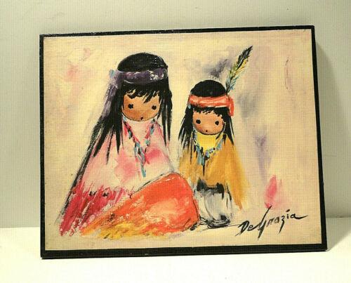 DeGrazia Print on Plaque Children