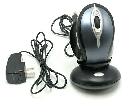 Logitech MX1000 M-RAG97 Laser Cordless Wireless Mouse Charger Tested