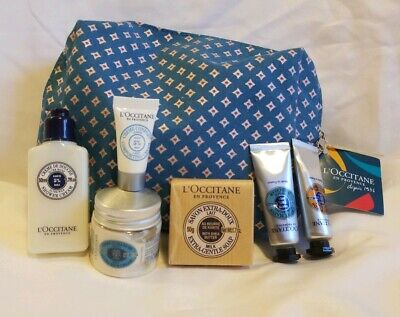 L'Occitane Bundle Gift Set (7) Best of Shea Butter and Gift Bag Brand
