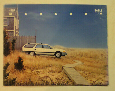 1987 Mercury Sable Brochure, GS and LS Station Wagon Mercury Sable Station Wagon