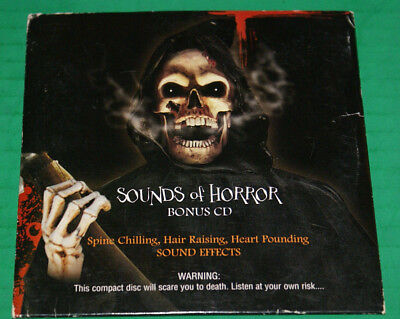 Sound Effects Halloween Sounds Of Horror (Sounds Of Horror Bonus Cd 2007 Halloween Sound Effects Vg Out Of Prod.)