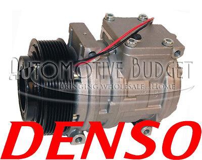 Ac Compressor For John Deere Tractors - 10pa15c 8gr 125mm 12v - New Oem