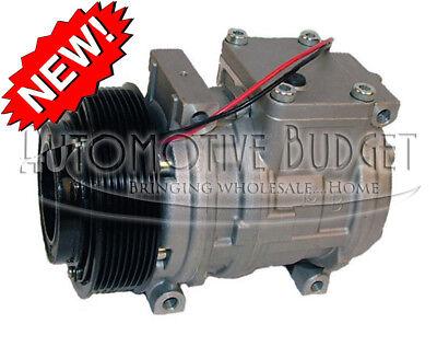 Ac Compressor For Wclutch John Deere Tractors - 10pa15c 8gr 125mm 12v - New