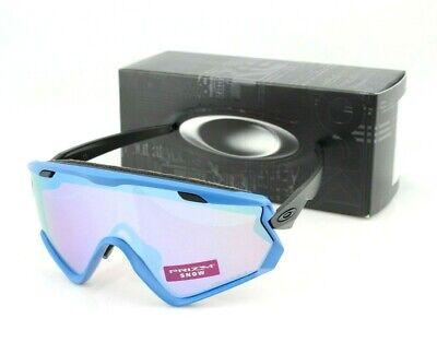 NEW OAKLEY WIND JACKET 2.0 Blue PRIZM Snow Sapphire Iridium Sunglasses OO7072 07