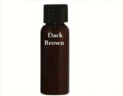 Leather Refinish Color Restorer TM 1oz Sampler Color Dark Brown for Touch Up -