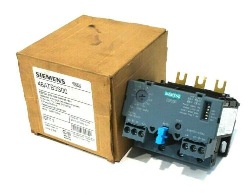 NEW SIEMENS 48ATB3S00 OVERLOAD RELAY
