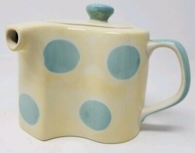 Herman Dodge and Son Curved Teapot - Polka Dot