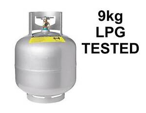 9kg LPG BOTTLE ... Tested & full of gas Capalaba Brisbane South East Preview