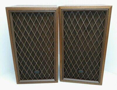 Vintage Realistic Nova-7B Floor Speakers - WORKS Great