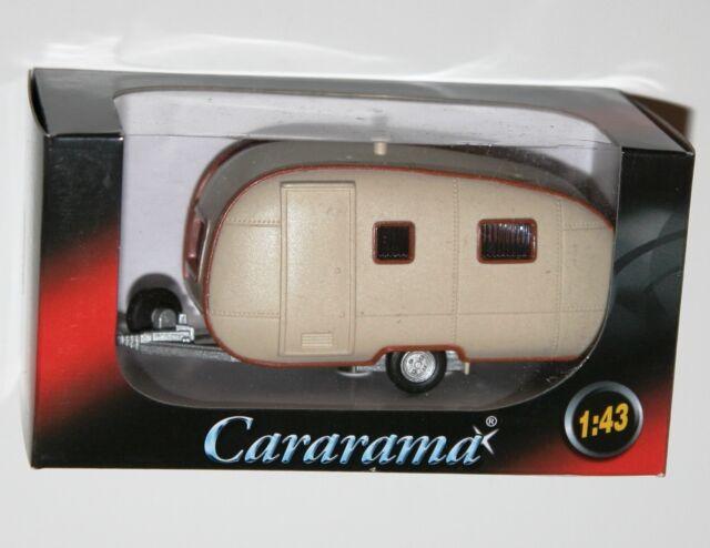 Cararama - CARAVAN (Cream) Model Scale 1:43