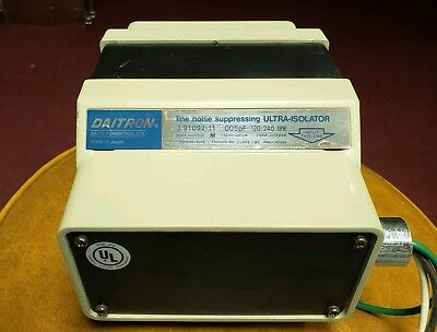 Isolation Transformer Daitron J 91095-11 Line Noise Suppressing Ultra-isolator