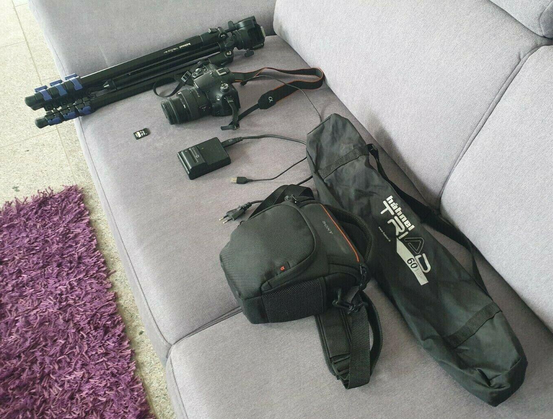 Sony Alpha SLT-A58K 20 MP Spiegelreflex Digitalkamera Kit