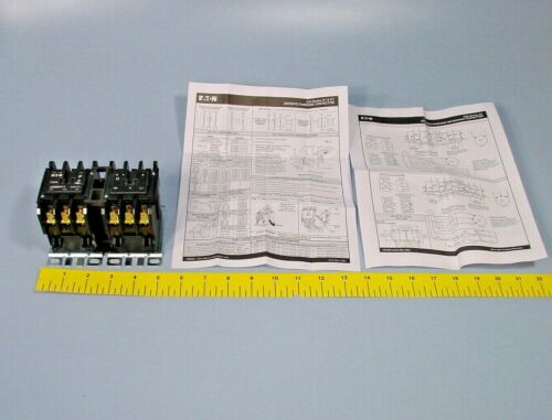 Eaton Cutler Hammer C65DNY1 Definite Purpose Reversing Contactor 3 Poles