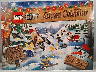 Lego City 7724 Advent Calendar 2008~BRAND NEW IN SEALED BOX!!