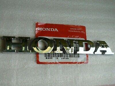 HONDA REAR EMBLEM TRUNK CHROME BADGE Nameplate Logo Word Letter Civic Accord Fit ()