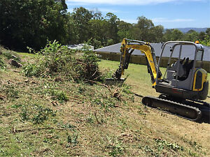 Land clearing  property clean ups tree and concrete removal $100 Marcoola Maroochydore Area Preview