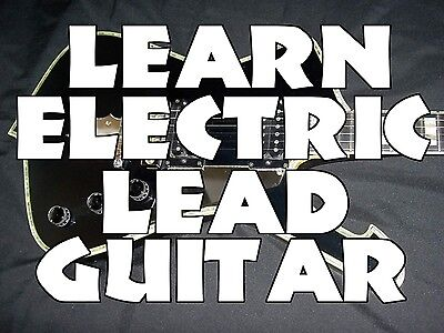 Learn Electric Lead Guitar DVD Lessons Rock Blues Cntry on Rummage