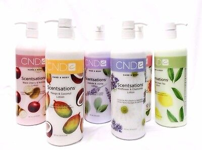 CND Creative Nail Scentsations Hand & Body Lotion 31oz/917ml Your Choice ~SALE!~