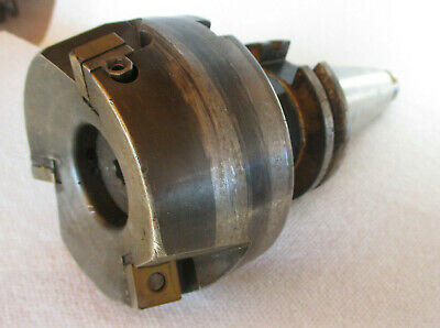 """Carbide Indexable 4/"""" Face Milling cutter /& CAT40 Arbor SECO #R220.69-04.00-16"""