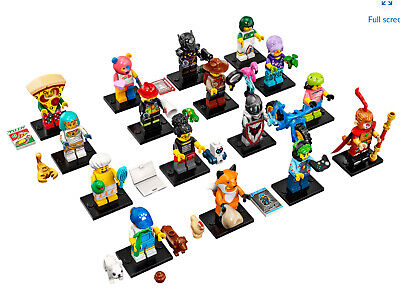 LEGO Series 19 Minifigures Dog Sitter Shower Guy Monkey King YOU CHOOSE