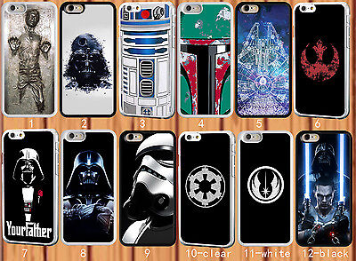 Star Wars for iPhone 6 6 Plus 4S 5 5S 5C Samsung S3 4 5 6 6 edge Note 2 3 4 Case