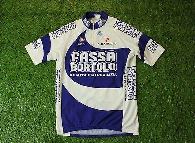 RARE CYCLING SHIRT JERSEY MAGLIA TRIKOT FASSA BORTOLO NALINI PINARELLO SIZE  4 8be819c60