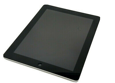 Apple iPad 4 16GB Wi-Fi 9.7in Black MD510LL/A A1458 iOS 10.3 FREE SHIPPING!!