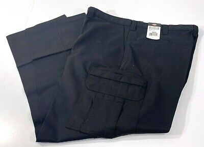 NEW MENS DICKIES INDUSTRIAL RELAXED FIT CARGO PANTS 2112372 BLACK 40x32