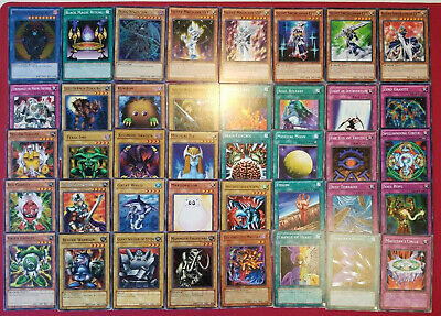 Yugioh YUGI MUTO Replica Budget Deck 40 Magician of Black Chaos Dark Gadget Duel