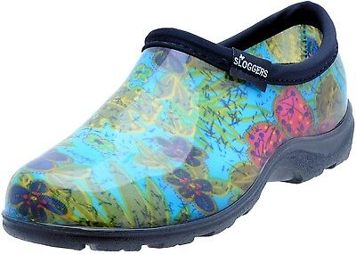 Sloggers 5102BL07 Womens Garden Shoes, Midsummer Blue, Size 7