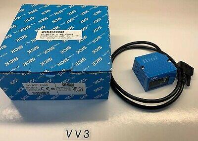 New Open Box Sick Optic Scanner Barcode Laser Software V5.61 Part Clv620-1000
