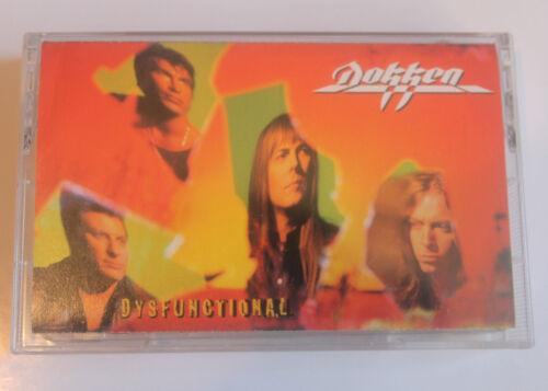 Dokken  Dysfunctional Cassette 1995 Columbia New Mint