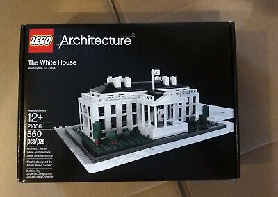 Lego Architecture 21006 The White House Retired Set New Sealed In Box