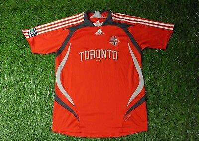TORONTO FC 2007/2008 MLS FOOTBALL SHIRT JERSEY HOME ADIDAS ORIGINAL YOUNG XL image