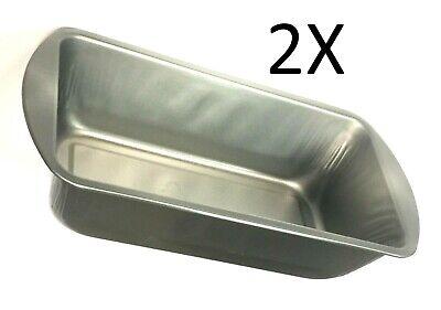 2 X Metal Bakeware Oven Baking Pan Bread & Loaf Meatloaf Cake  Bakeware Meat Loaf Pan