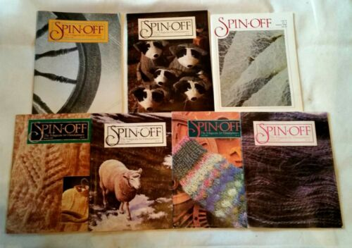 7 SPIN OFF MAGAZINES 1986 (Winter)1988 (Fall Winter) 1989 (spring,S.fall,wint)
