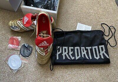 Adidas Predator Accelerator Zidane Gold Limited Edition UK 13 FG Brand New Boxed